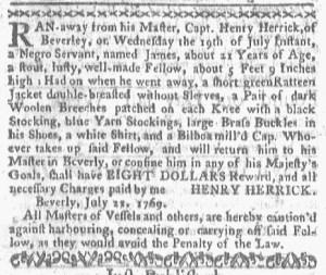 Jul 31 - Boston-Gazette Slavery 3