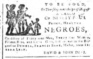 Jul 31 - South-Carolina and American General Gazette Slavery 3
