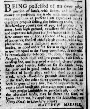 Jul 6 - Virginia Gazette Rind Slavery 5