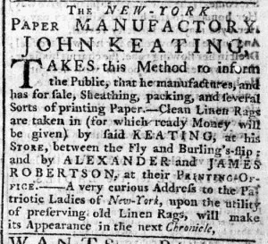 Aug 20 - 8:17:1769 New-York Chronicle