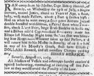 Aug 21 - Boston-Gazette Slavery 2