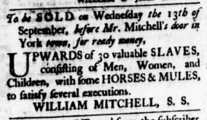 Aug 24 - Virginia Gazette Purdie and Dixon Slavery 2