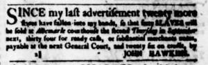 Aug 24 - Virginia Gazette Purdie and Dixon Slavery 4