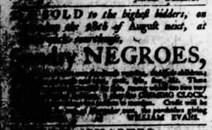 Aug 24 - Virginia Gazette Purdie and Dixon Slavery 7