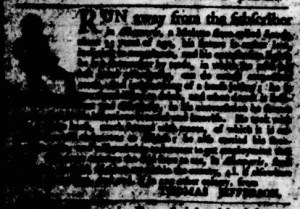 Sep 14 - 9:14:1769 Virginia Gazette Purdie and Dixon