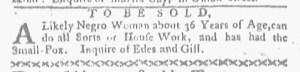 Sep 18 - Boston-Gazette Slavery 1
