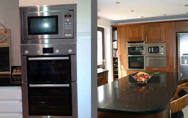 appliances fit in tall kitchen units