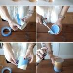 Diy Gift Idea Gold Dipped Mugs