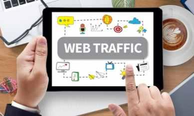 checking web traffic ipad
