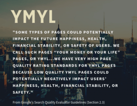 ymyl page definition