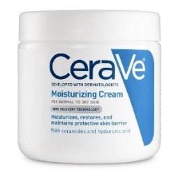 CeraVe Moisturizing Cream stock photo