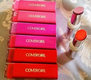 cover girl lipsticks