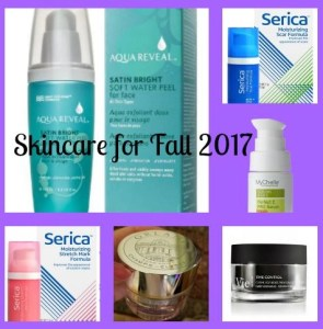 skincare for fall 2017 collage