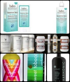 photo by alison blackman advicesisters.com collage of natural and organic skincare products