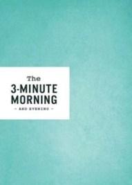 book cover three minute morning stock photo amazon.com