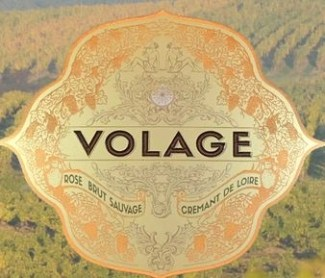 a wine label for volage crement sparkling wine