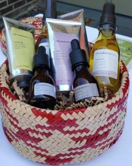 basket of hand creams and oils natura brasil [jptp bu a;ospm b;lackman 2019