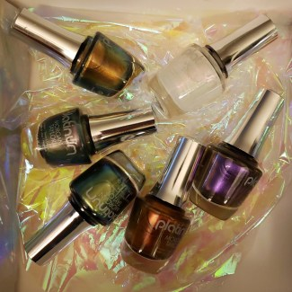 morgan taylor illusions platinum collection nail lacquer colors