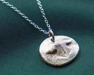 pet nose pendant AT THE GROMMET