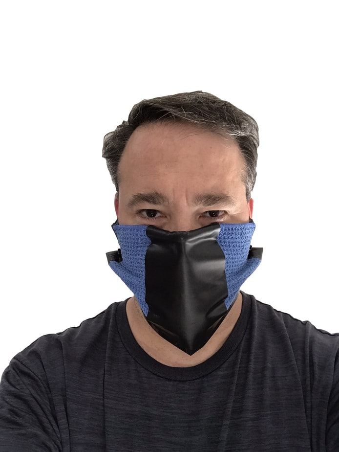 Homemade virus mask