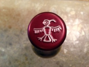 Bottle top logo