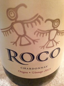 ROCO Winery Chardonnay Label