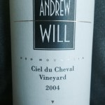 Andrew Will 2004 Ciel du Cheval