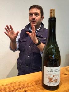 Winemaker Thierry Usseglio