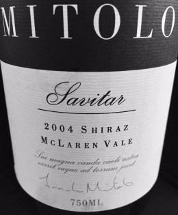 2004 Mitolo Savitar Shiraz