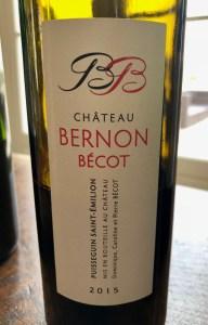 St emilion bordeaux wine