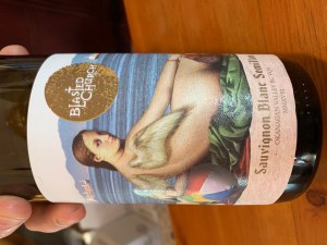 BC wine label