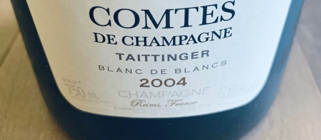 Champagne's Tête de Cuvées: Taittinger Comtes de Champagne