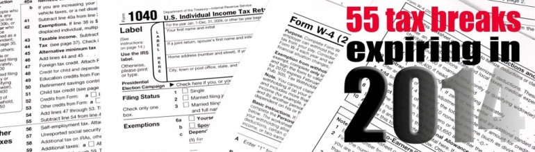 Expiring 2014 Tax Provisions