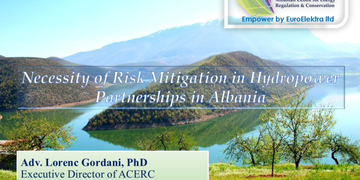 Necessity of Risk Mitigation in Hydropower Partnerships in Albania
