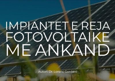 Impiantet e reja fotovoltaike me ankand