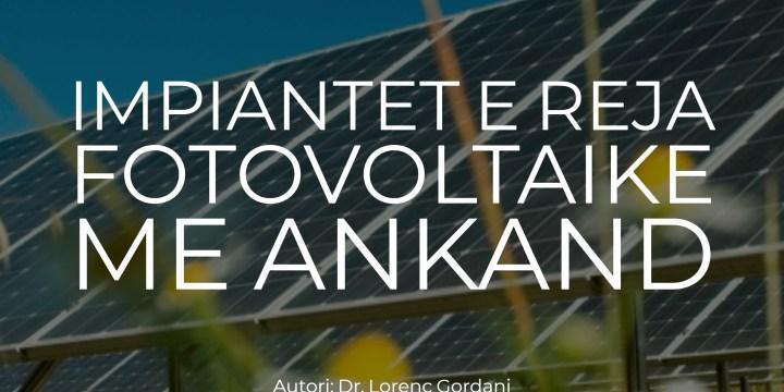 Impiantet e reja fotovoltaik me ankand