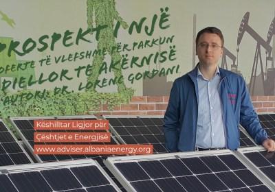 Prospekt i një oferte të vlefshme për parkun diellor te Akërnisë