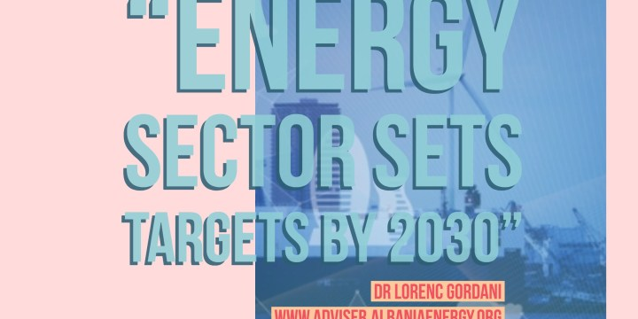 Energy sector sets targets by 2030