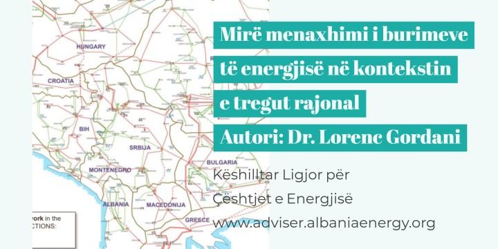 Energjia elektrike, një hap më afër tregut rajonal!