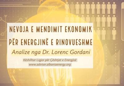 Qasja ekonomike primare ne përzgjedhjen e teknologjisë se rinovueshme