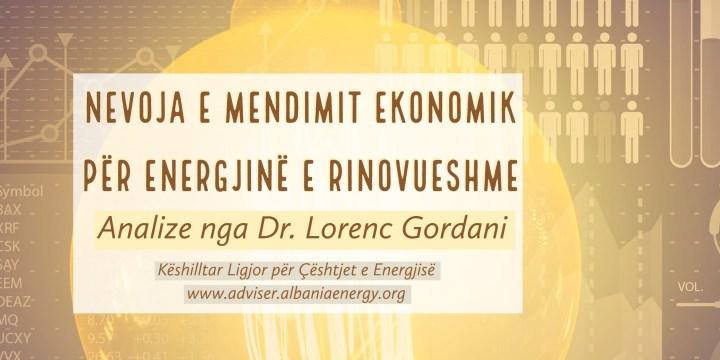 Qasja ekonomike primare në përzgjedhjen e teknologjisë së rinovueshme