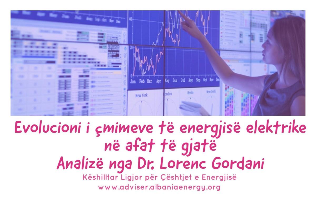 Faktorët kryesorë në evoluimin e çmimeve të energjisë elektrike në afatgjatë