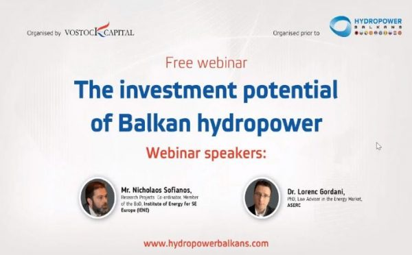 investment potential of balkan hydropower investment potential of balkan potential of balkan hydropower balkan hydropower vostock capital 20th hydropower vostock capital 20th june