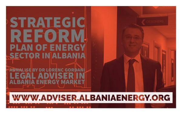 strategic reform plan of energy reform plan of energy sector energy sector in albania albania by dr lorenc gordani reform plan of energy