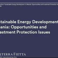 Albania toward large and sustainable developments