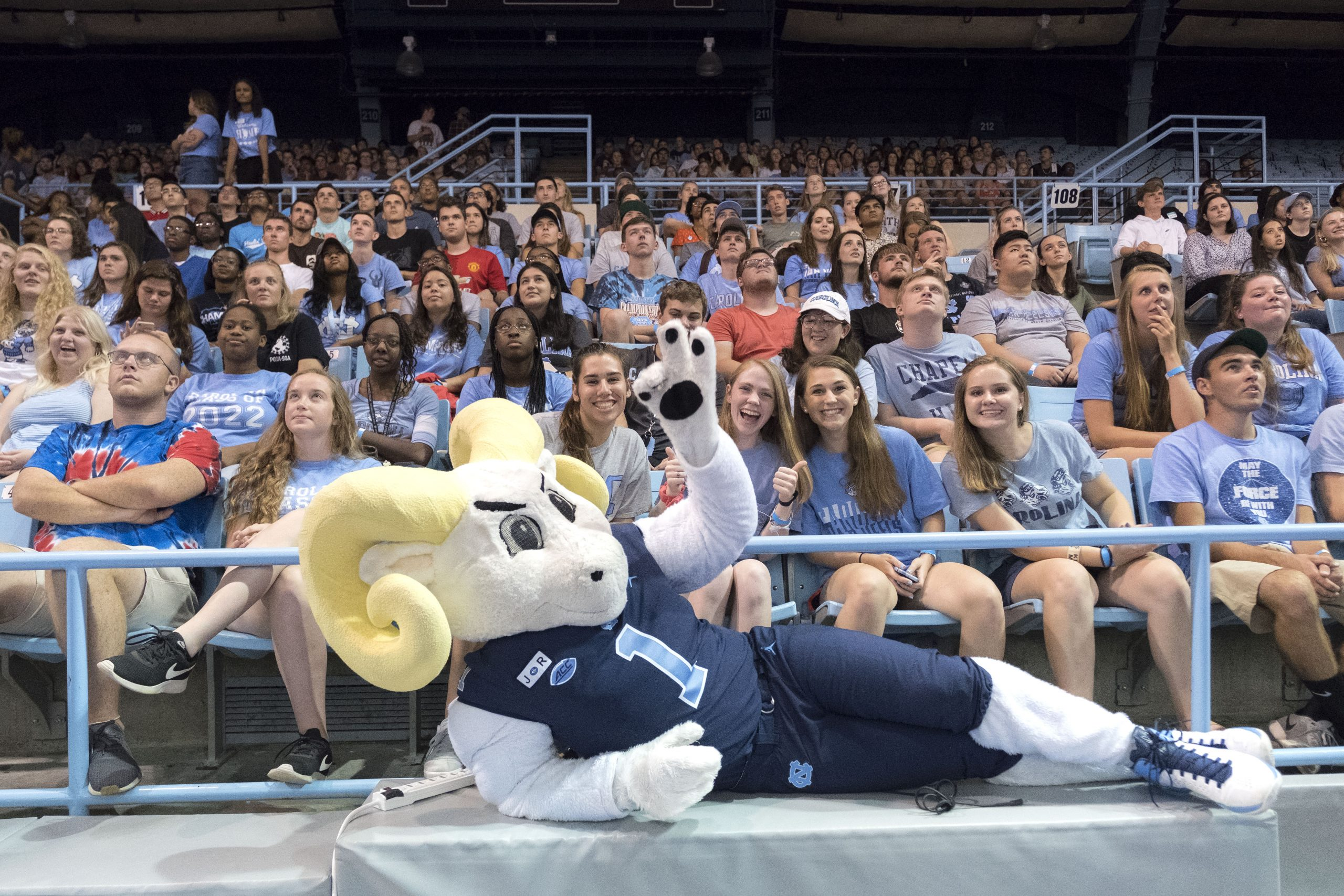 Welcome New Tar Heels