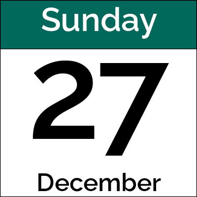 December 27