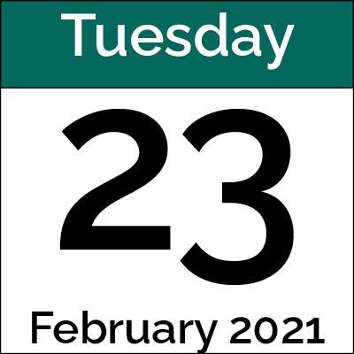 February 23