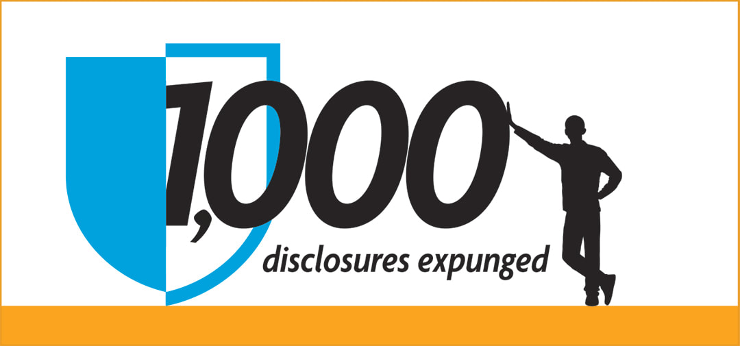 AdvisorLaw celebrates 1000 disclosures expunged