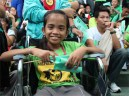 Children with disability joins the event